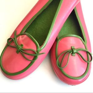 kate spade Kerry Rubber Bow Flats